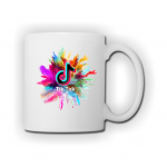 TIK TOK mug splash
