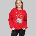Baby it's COVID Outside w sweatshirt