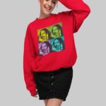 Mona Lisa Sweatshirt W